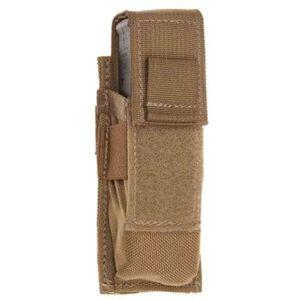 Tac Shield Single Universal Pistol Magazine MOLLE Pouch Nylon Coyote T3601CY