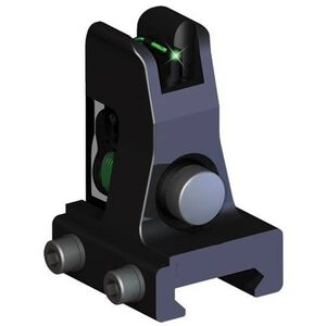 TRUGLO Fiber Optic AR-15 Front Sight Lower Gas Block Height Green/Black TG115