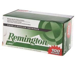 Remington .40 S&W UMC Ammunition 100 Rounds, MC, 180 G