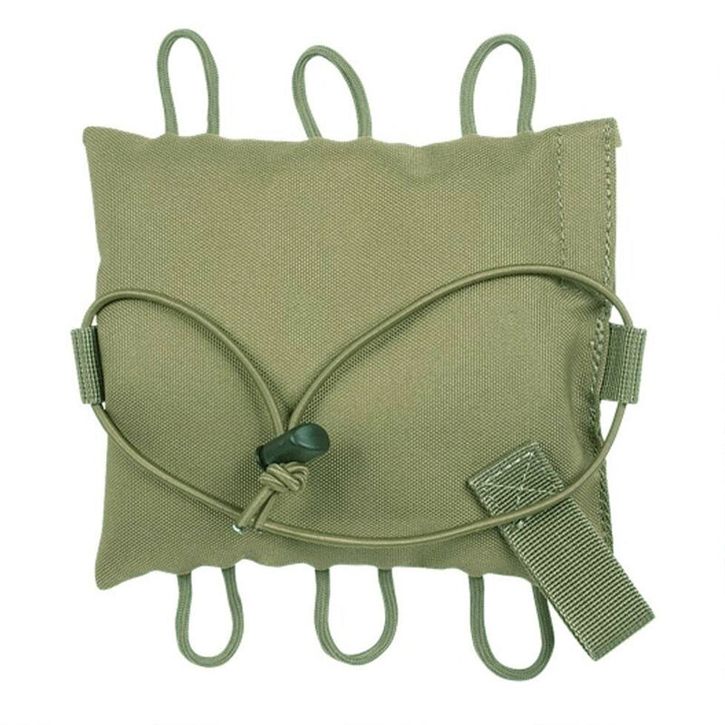 Voodoo Tactical Flat Shooter's Bean Bag Olive Drab