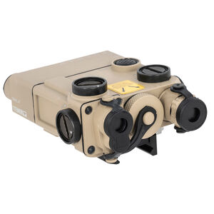 Steiner DBAL-A3 Dual Beam Aiming Laser Advanced 3 Green Laser/IR Laser Pointer/IR Illuminator Desert Sand