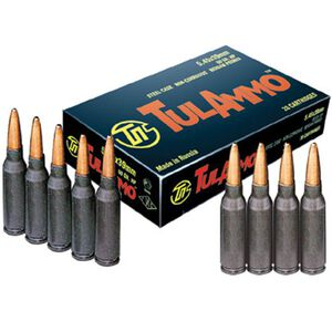 TulAmmo 5.45x39mm 60 Grain Bi-Metal FMJ 20 Round Box