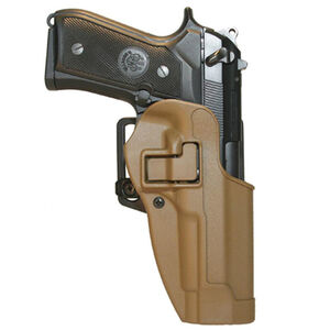 BLACKHAWK! CQC SERPA Belt Holster, SIG P220, Coyote Tan Matte Finish, Right Hand