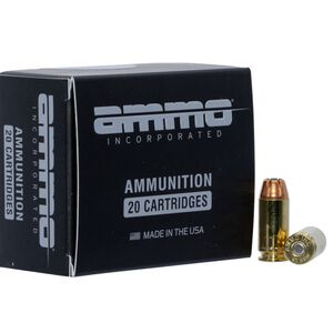 Ammo Inc. Signature .40 S&W 180 Grains JHP 20 Rounds 40180JHP-A20
