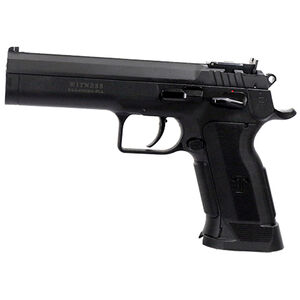 """EAA Witness P Match Single Action Semi Automatic Pistol 10mm Auto 4.75"""" Barrel 10 Rounds Polymer Competition Frame Single Action Trigger Fully Adjustable Super Sight Black Finish"""