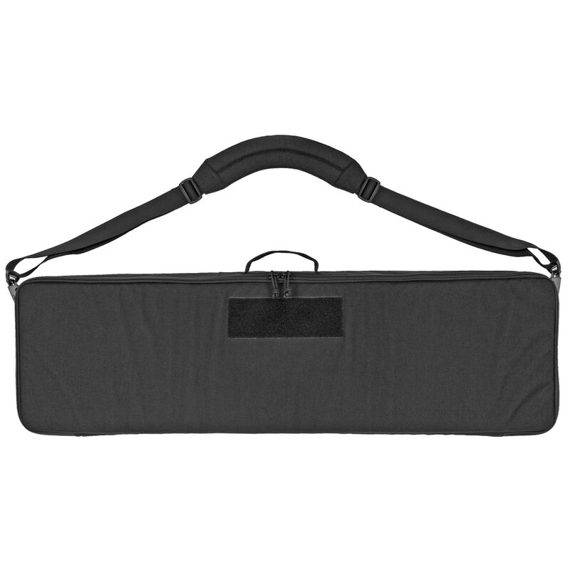 "Grey Ghost Gear Single Rifle Case 38""x11""x4"" Carrying Strap Nylon Black"