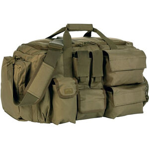 Red Rock Gear Operations Duffle Bag 43 Liter Capacity 7 External Pockets 600D Polyester OD Green