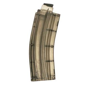 2A Armament AR-15 .22 Long Rifle Magazine 25 Rounds Steel Feed Lips Polymer Construction Smoke Finish