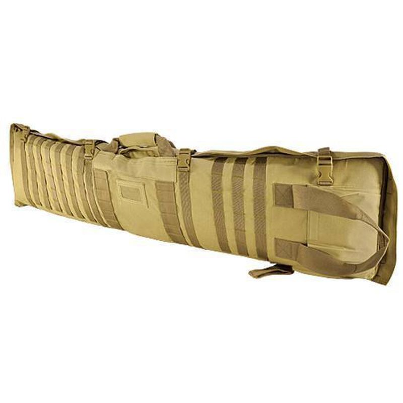 """NcSTAR Rifle Case/Shooting Mat 48"""" Padded Synthetic Fabric Tan"""