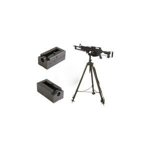 KNS Precision COLT LMG Upper MG42 Tripod to AR-15/M16 Adapter Aluminum Black ADAPTOR