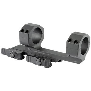Midwest Industries AR-15 30mm Scope Mount QD Levers 6061 Aluminum Black MI-QD30SM
