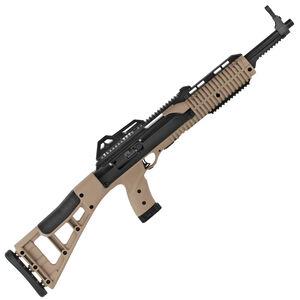 "Hi-Point Carbine .45 ACP Semi Auto Rifle 17.5"" Barrel 9 Rounds Polymer Stock Flat Dark Earth/Black Finish"