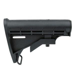 TacFire AR-15 Commercial M4 Style AR-15 Stock Polymer Black MAR083