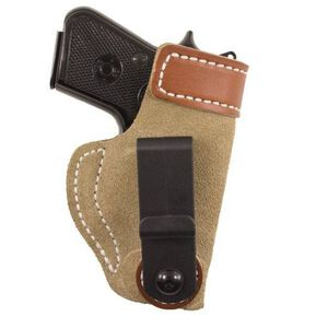 Desantis Sof-Tuck Inside the Pant for SR9c and S&W Shield Right Hand Natural Suede