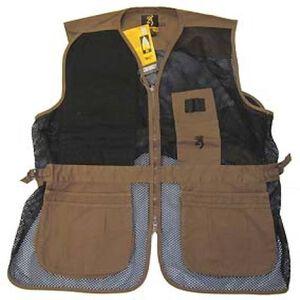 Browning Trapper Creek Shooting Sotgun Vest Clay Black X-Large 3050266804