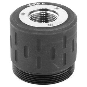 Gemtech Threaded Rear Mounts For Use With Gemtech GM-45/Blackside Suppressor 1/2x28 Thread Matte Black