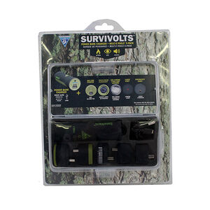 Seattle Sports Survivolts Power Bank Charger/USB Mult-E-Tool