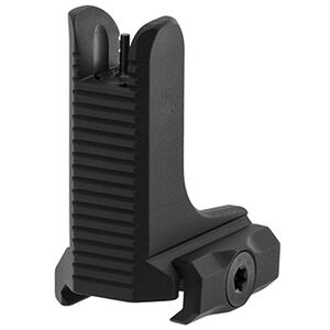 UTG AR15 Super Slim Fixed Front Sight, Gas Block Height, Black