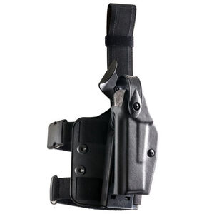 Safariland 6004 SLS Tactical Holster Fits GLOCK 17/22 with Streamlight TLR-2 Left Hand Hardshell STX Tactical Black