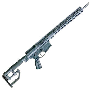 """CheyTac CT10 .308 Winchester AR Style Semi Auto Rifle 18"""" Barrel 10 Rounds Free Float Hand Guard CheyTac Custom Fully Adjustable Stock Black"""
