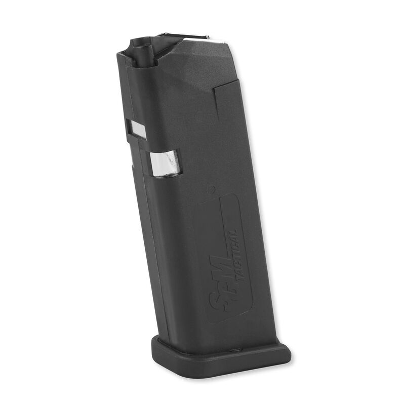 SGM Tactical Magazine For GLOCK 23 .40 S&W 13 Rounds Metal Lined Polymer Black SGMTMG23