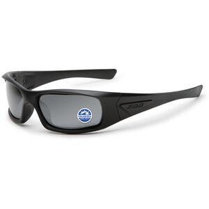 ESS 5B Ballistic Sunglasses Polarized Mirror Grey Lens Black