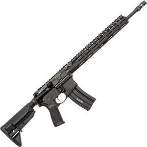 "Bravo Company USA RECCE-16 MCMR .300 Blackout AR-15 Semi Auto Rifle 16"" Barrel 30 Rounds M-LOK Handguard Collapsible Stock Black"