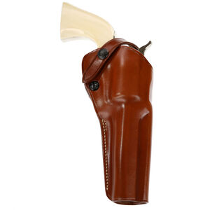 "Single-Action Outdoorsman Belt Holster Ruger Blackhawk & Vaquero 5-1/2"" Right Hand Leather Tan"