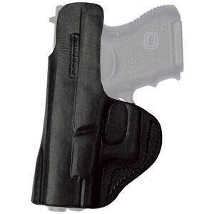 Tagua Gunleather Inside the Pants Holster SIG P938 IWB Belt Clip Right Hand Plain Black
