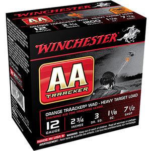 Winchester  12 Gauge AA TrAAcker #7.5 2.75 250 Rounds