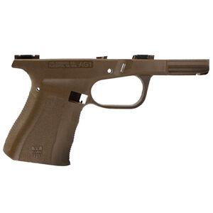 FMK Firearms AG1 Frame Stripped Compact Size Frame Built For GLOCK 19 Gen3 Slides Polymer Dark Earth