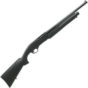 "Dickinson XX3B-2 Pump Action Shotgun 12 Gauge 18.5"" Barrel 3"" Chamber 5 Rounds Synthetic Stock Black"