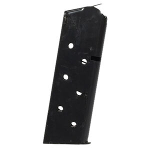 Colt 1911 Officer/New Agent Magazine .45 ACP 7 Rounds Stainless Steel Black