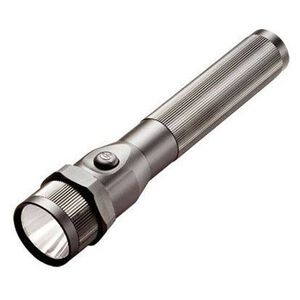 Streamlight Stinger C4 LED HP DS Flashlight 350 Lumen with 230 Volt Charger 2 Holders Dual Switch Aluminum Body Black 75729