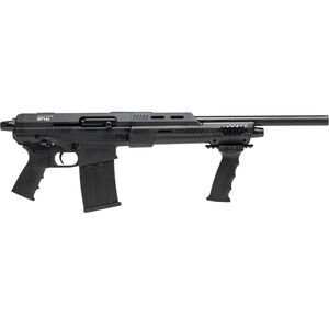 "Standard Manufacturing SKO Shorty Semi Auto Shotgun 12 Gauge 18"" Barrel with Internal Choke Threads 3"" Chamber 5 Round Detachable Box Magazine Pistol Grip with AR Style Controls Matte Black Finish"