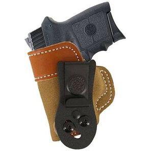 DeSantis 106 Sof-Tuck IWB Holster S&W Bodyguard .380 Left Hand Leather Tan 106NBU7Z0
