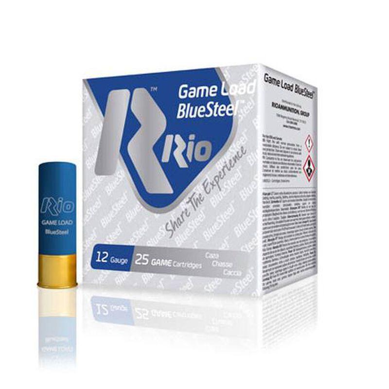 "RIO Ammo Game Load BlueSteel 36 12 Gauge Shotshell 250 Rounds 2 3/4"" 1 1/4 oz #4 Shot"