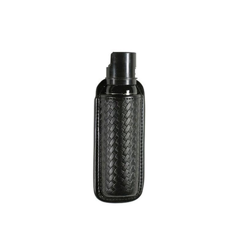Bianchi 7908 Open OC Mace Flashlight Pouch MK-3 AccuMold Basket Weave Black 24983