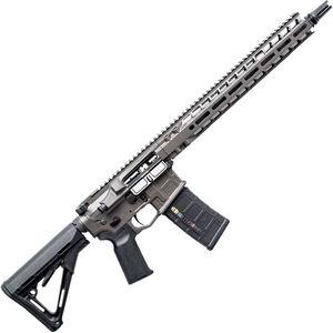 "Radian Weapons Model 1 .300 Blackout AR-15 Semi Auto Rifle 30 Rounds 16"" Barrel Free Float M-LOK Handguard Collapsible Stock Gray Finish"