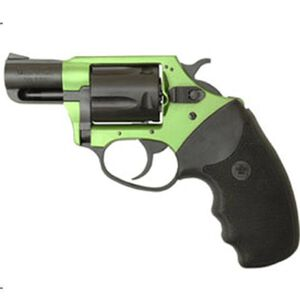 "Charter Arms Undercover Lite Revolver .38 Special +P 2"" Barrel 5 Round Black Rubber Grip Aluminum Black Green Finish 53844"