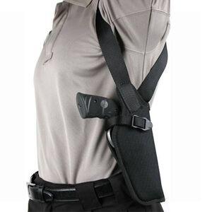 "BLACKHAWK! Vertical Shoulder Holster 6"" to 7.5"" Barrel Single Action Revolvers Right Hand Black Nylon 40VH04BK-R"