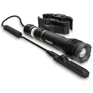 iPROTEC LG250 Green Light 250 Lumen Light 3 AAA Batteries fits Most Long Guns Barrel Mount Aluminum Black