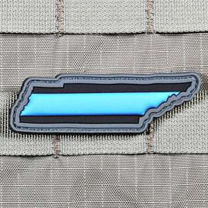 """Violent Little Machine Shop """"Thin Blue Line"""" State of Tennessee Morale Patch"""