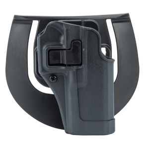 BLACKHAWK! SERPA Sportster Paddle Holster Beretta 92/96 Right Hand Polymer Gray 413504BK-R