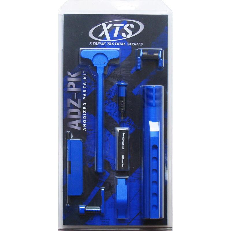 XTS Anodized AR-15 Parts Kit Blue XTS-ADZ-PKBL