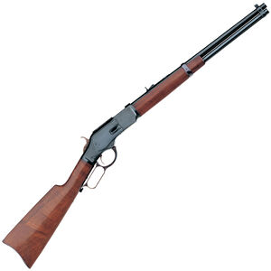 "Taylor's & Co 1873 Carbine Lever Action Rifle .357 Mag 19"" Round Barrel 10 Rounds Walnut Stock Case Hardened/Blued Finish"