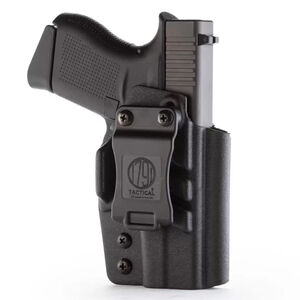 1791 Gunleather Tactical Kydex IWB Holster for GLOCK 43/43x Right Hand Draw Kydex Matte Black