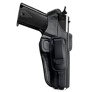 Tagua Gunleather 4-IN-1 S&W Shield Inside the Waistband Holster with Thumb Break Right Hand Leather Black IPH4-1010