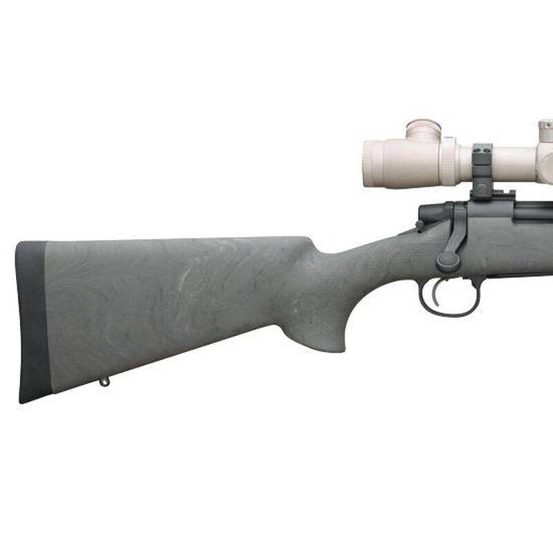 """Remington 700 SPS Tactical AAC-SD Bolt Action Rifle .308 Winchester 20"""" Heavy Barrel 4 Rounds Threaded 5/8x24 Hogue Overmolded Ghillie Green Pillar Bedded Synthetic Stock Matte Blue"""