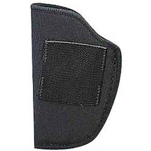 """Ambidextrous Inside-the-Pants Holster Small-Frame Autos 2-1/4"""" Barrels Size 00 Synthetic Black"""